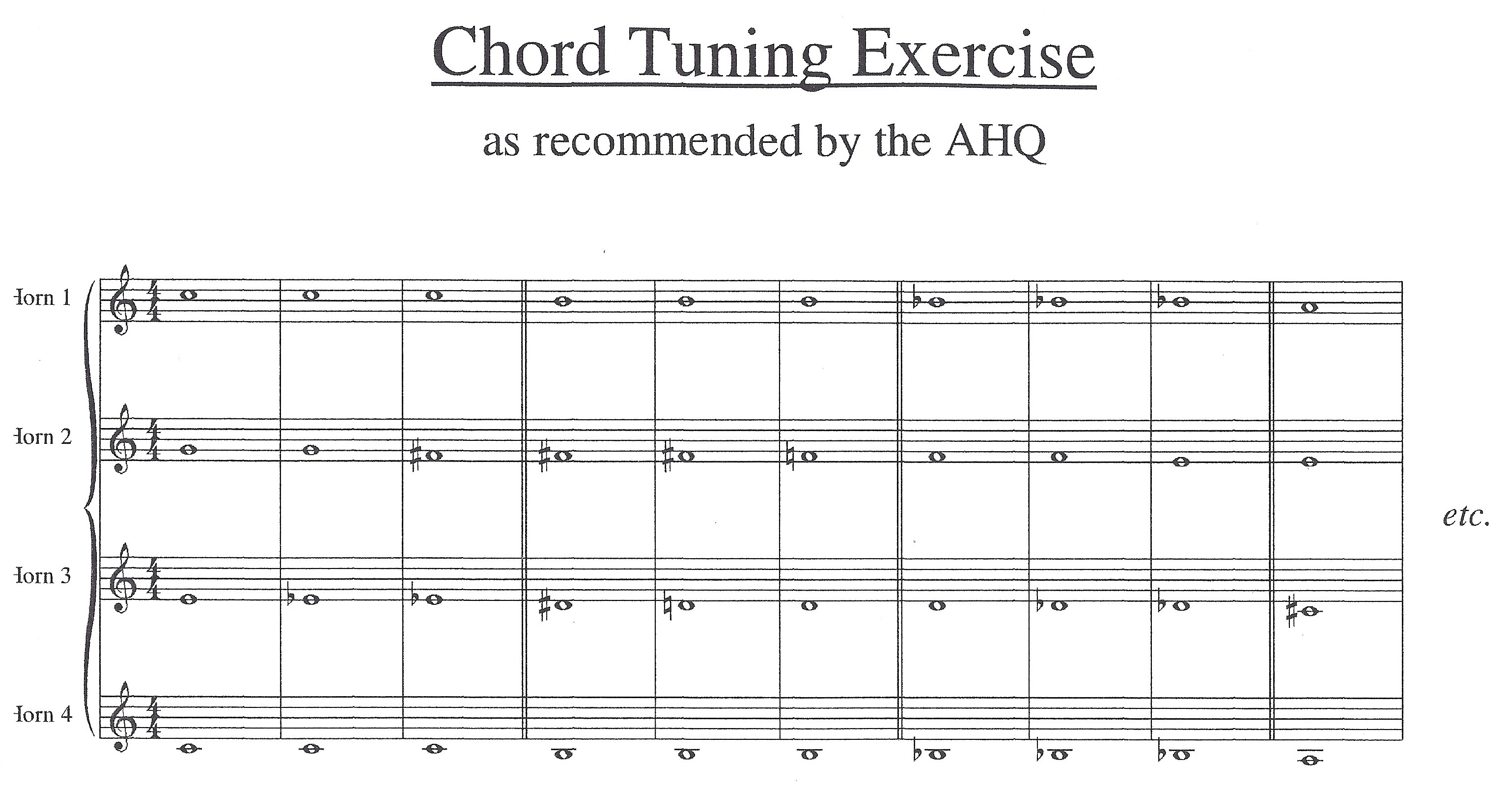 Chord Tuning Place marker link