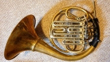Paxman pre-'85 descant, gold brass, large bell