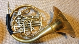 Paxman 40L pre-'85 descant, gold brass, large bell